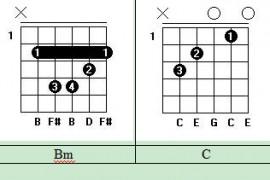 吉他入门基础教程第3节:认识吉他和弦