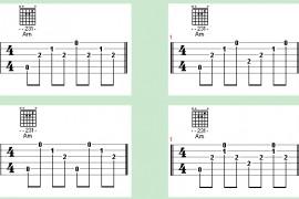 吉他入门基础教学第4节:和弦伴奏右手指法