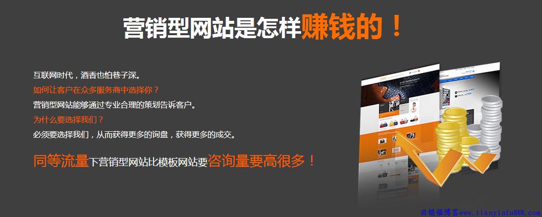 西安营销型网站建设排名第一,我是认真又专业的! 福仔有话说