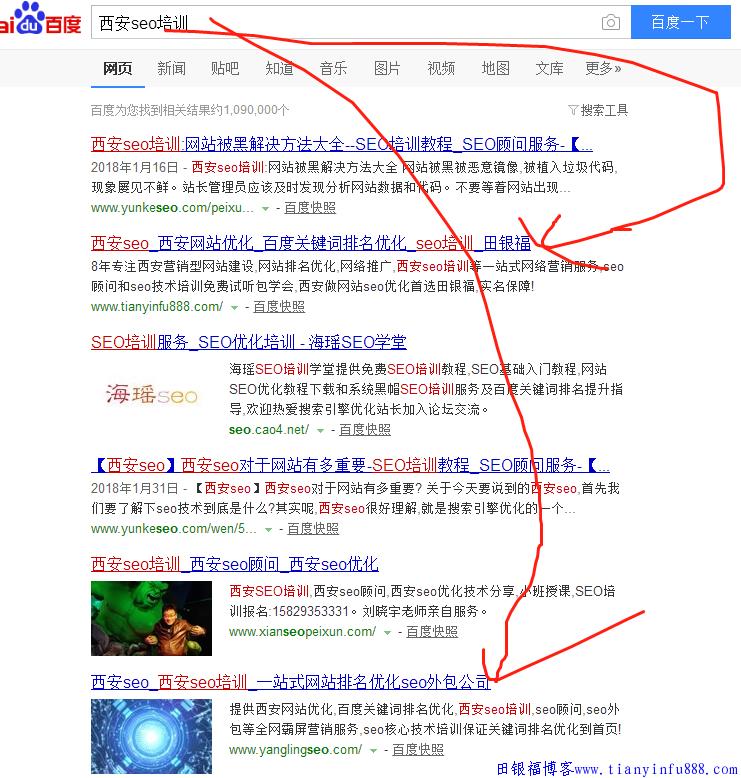 西安seo关键词排名上首页就是这么简单? 案例分享 2