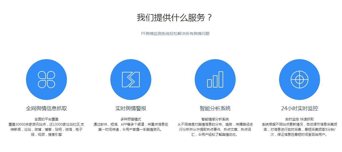大数据舆情监控系统,提供舆情监控解决方案 品牌公关 2